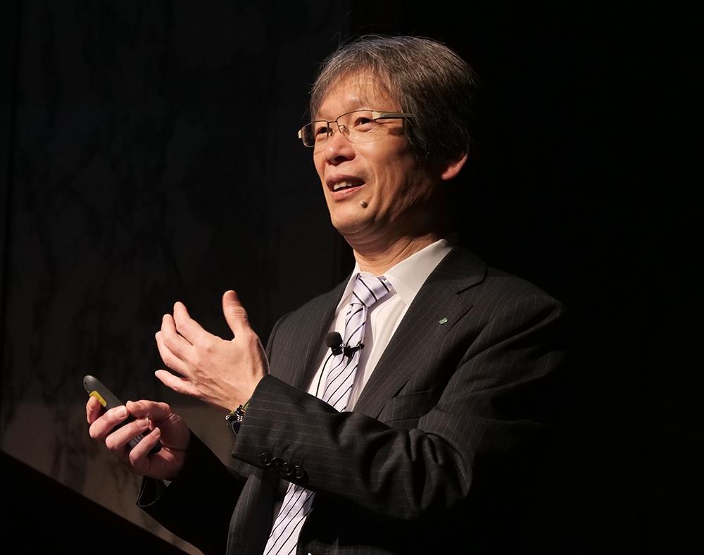 住友林業情報システム ICTビジネスサービス部の成田裕一氏 (撮影:新関 雅士)