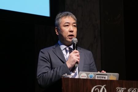 パルコの執行役グループICT戦略室担当である林直孝氏