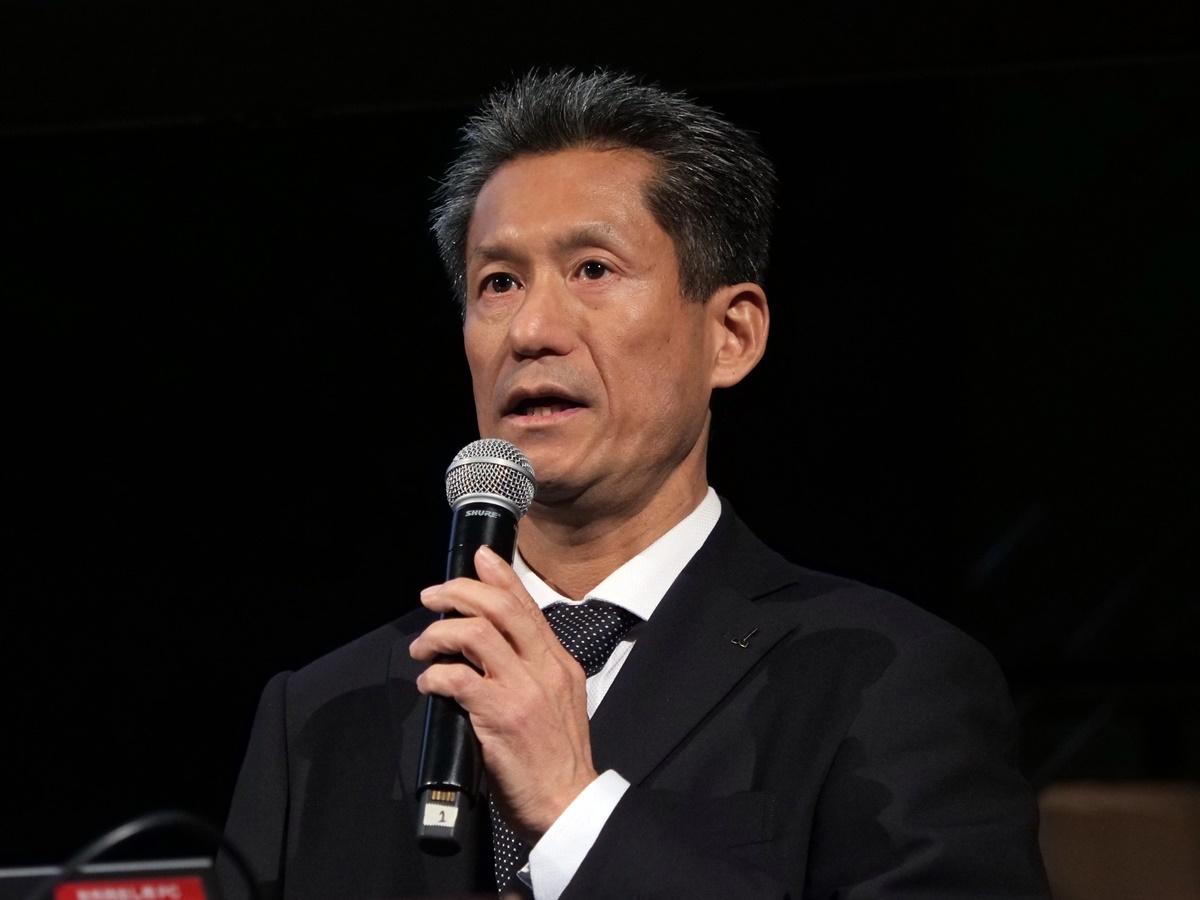 オークマ 製造本部 生産技術部 部長の一木洋介氏 (撮影:新関 雅士)