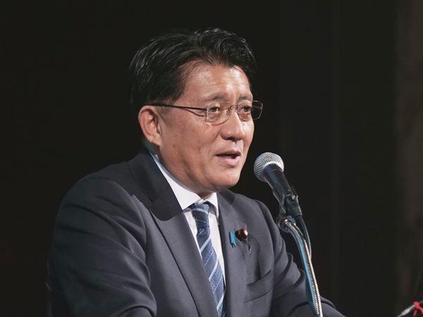 IT担当大臣の平井卓也氏 (撮影:新関 雅士)