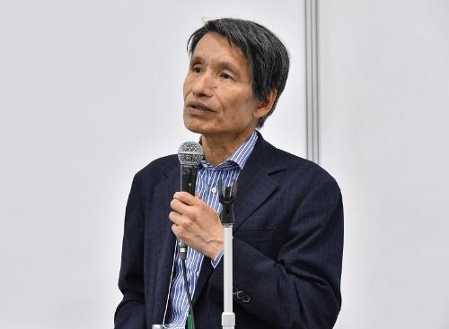 南山大学 理工学部 ソフトウェア工学科 教授の青山 幹雄氏(撮影:筒井誠己)