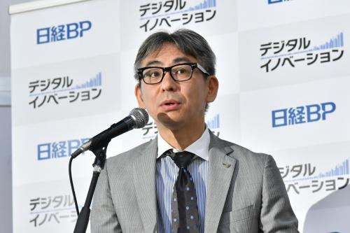 基調講演に登壇したローランド・ベルガー代表取締役社長の長島 聡氏
