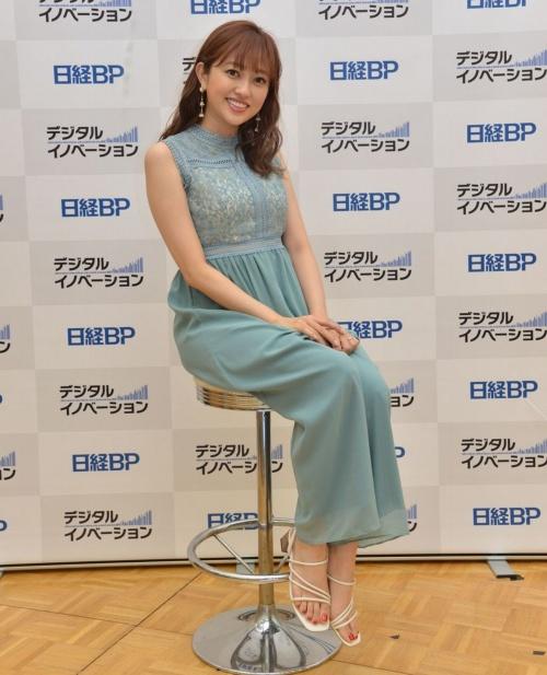 タレントの菊地亜美さん