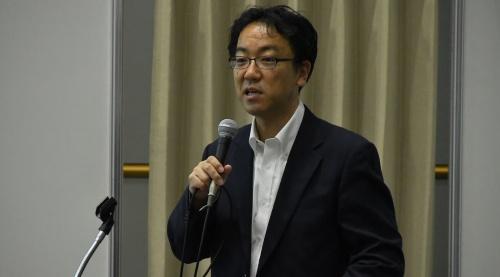 経済産業省の和泉憲明氏