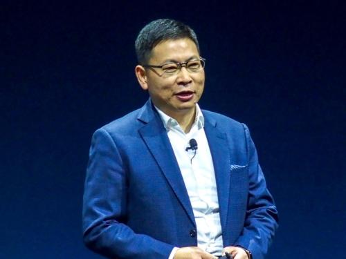 写真2●ファーウェイ コンシューマー事業部門CEOのリチャード・ユー氏