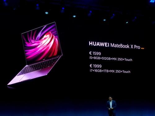 写真12●ノートパソコン「HUAWEI MateBook X Pro」