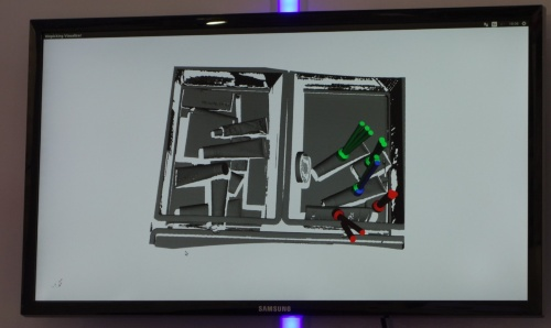 3Dスキャナーで撮影した画像からワークの把持可能な箇所を都度計算する