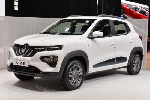 図1 Renaultが上海モーターショー2019で公開した小型EV「City K-ZE」