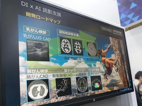 日立製作所のAIを利用したシステムの開発ロードマップ