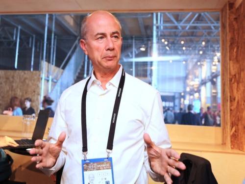 MichelinのExecutive Vice-Presidentで研究開発部門を統括するEric Philippe Vinesse氏