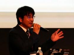 デンソーウェーブの澤田洋祐氏(FA・ロボット事業部 製品企画室 室長)