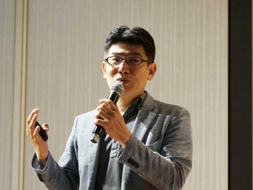 テクノロジーNEXTで講演するシグマクシス ディレクターの田中宏隆氏