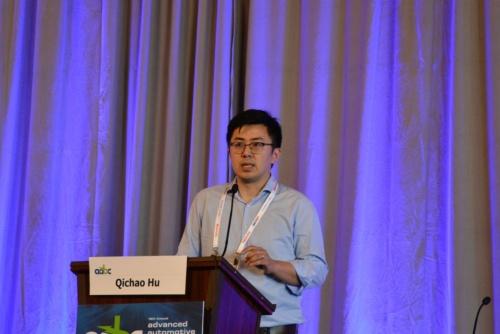 図 SolidEnergy SystemsのCEOのQichao Hu氏