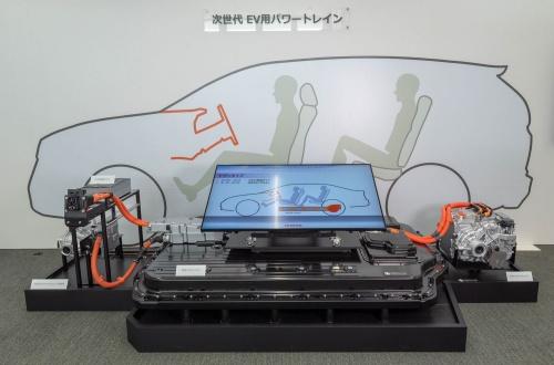 開発中の中型EV用プラットフォーム。(出所:ホンダ)