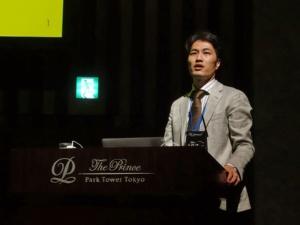 OpenStreet代表取締役の横井晃氏。(撮影:日経 xTECH)
