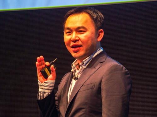 写真6●英アームの芳川裕誠IoTサービスグループデータビジネス担当バイスプレジデント兼ジェネラルマネージャー