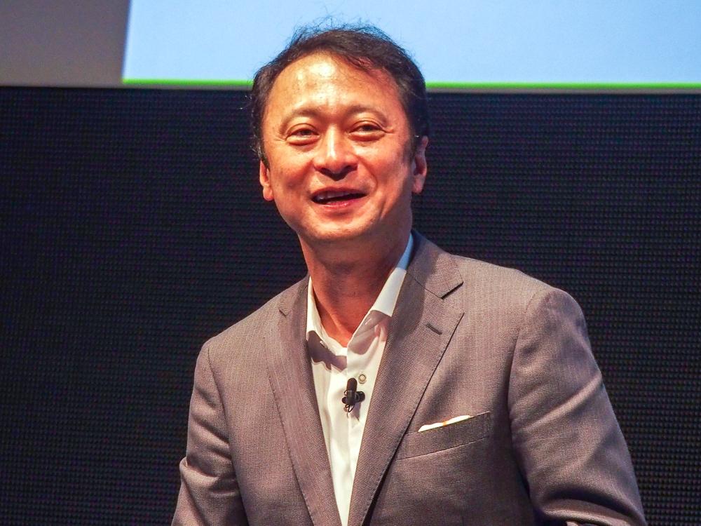写真9●ソフトバンクの宮川潤一副社長兼CTO(最高技術責任者)