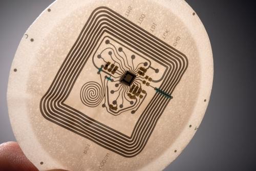 図4 ポリウレタン製フレキシブル電子回路