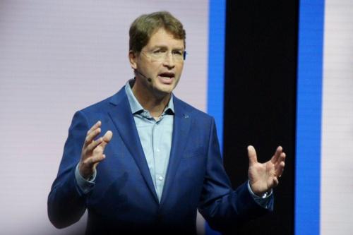 新社長のオラ・ケレニウス氏(Chairman of the Board of Management of Daimler AG and Head of Mercedes-Benz Cars)。