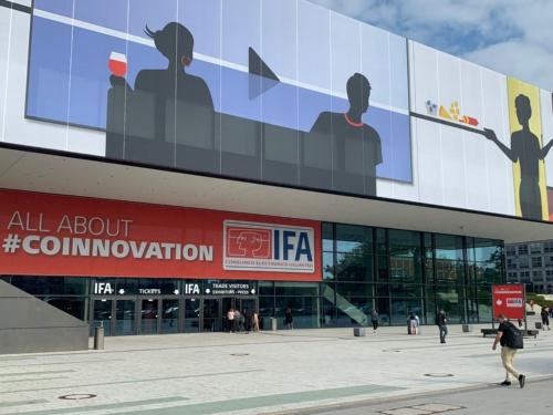 2019年9月6日にベルリンで開幕する「IFA 2019」の会場。展示スペースは東京ビッグサイトの5倍以上と巨大だ