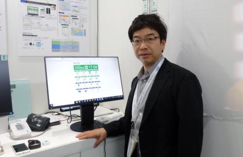 奈良県立医科大学 MBT研究所 教授で、MBTリンク 代表取締役社長の梅田智広氏