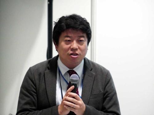 厚生労働省 医政局総務課 保健医療技術調整官の堀岡伸彦氏