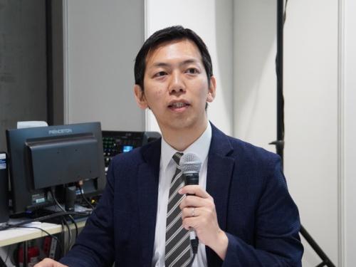デジタルハリウッド大学大学院 客員教授の加藤浩晃氏