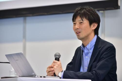 竹中工務店設計本部構造設計システムグループの九嶋壮一郎副部長(写真:菊池 一郎)