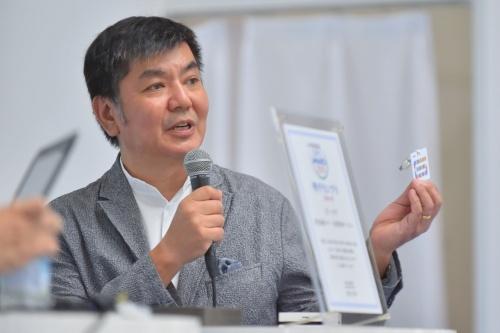ビーコアの水野廉郎代表取締役