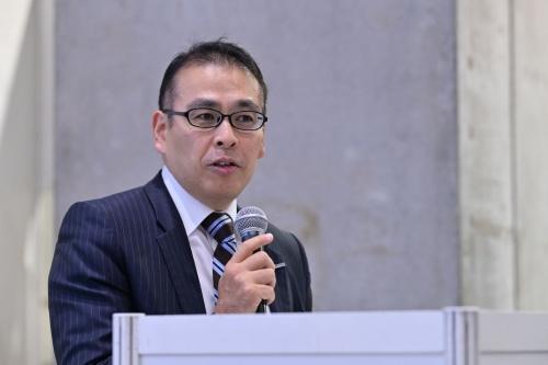 パナソニックビジネスソリューション本部CRE事業推進部の山本賢一郎部長(写真:中村 宏)