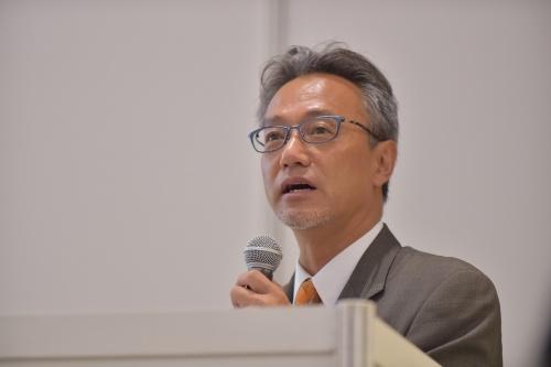 図1 DMG森精機 専務執行役員の川島昭彦氏
