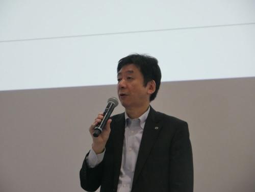 マツダ 執行役員 MDI&IT本部 本部長の木谷昭博氏