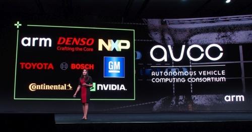AVCCには自動車メーカーやTier1、半導体メーカーが名を連ねる(撮影:日経 xTECH)