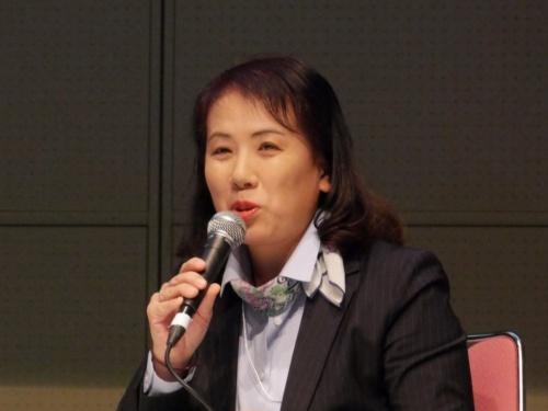 JEMA スマートマニュファクチャリング特別委員会の苗村万紀子委員長