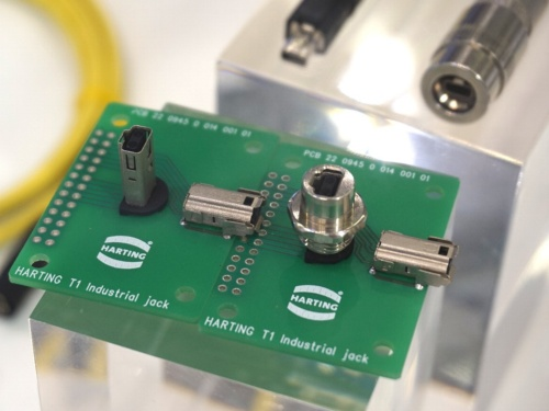 Single Pair Ethernet(SPE)向けコネクター「T1 Industrial」