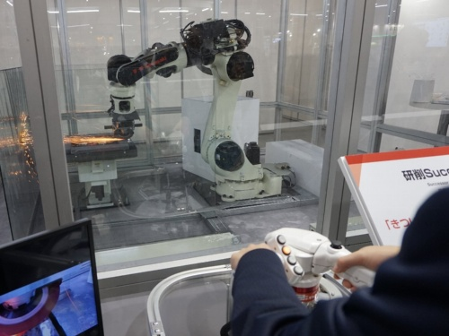 研削ロボットシステム「Successor-G」