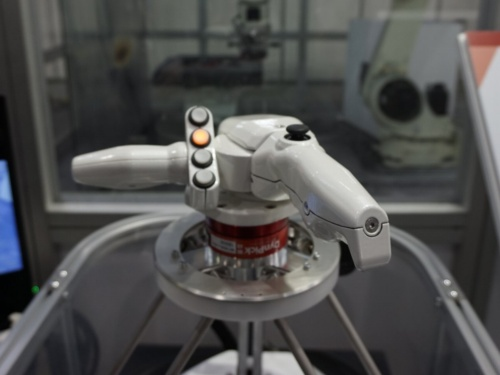 Successor-Gの操作ハンドル