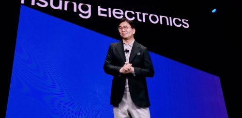 サムスン電子でPresident and CEO of Consumer Electronics Divisionを務めるHyun-Suk Kim氏