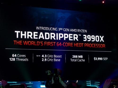 写真8●Ryzen Threadripper 3990X