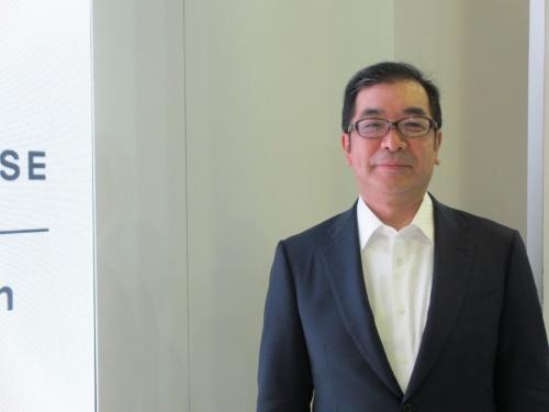インタビューに応じた積水ハウスの仲井社長