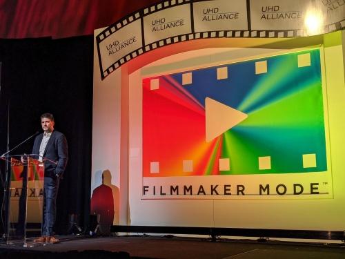 UHDアライアンスが開催したFilmmaker Modeのプレスカンファレンス