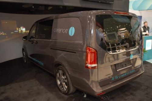 図2 Cerenceの試作車