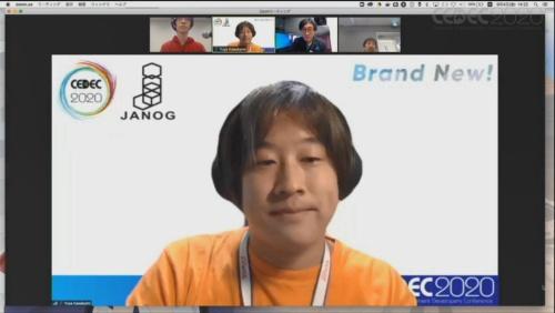 JANOGの運営委員を務めるNTTリミテッド・ジャパンの川上氏