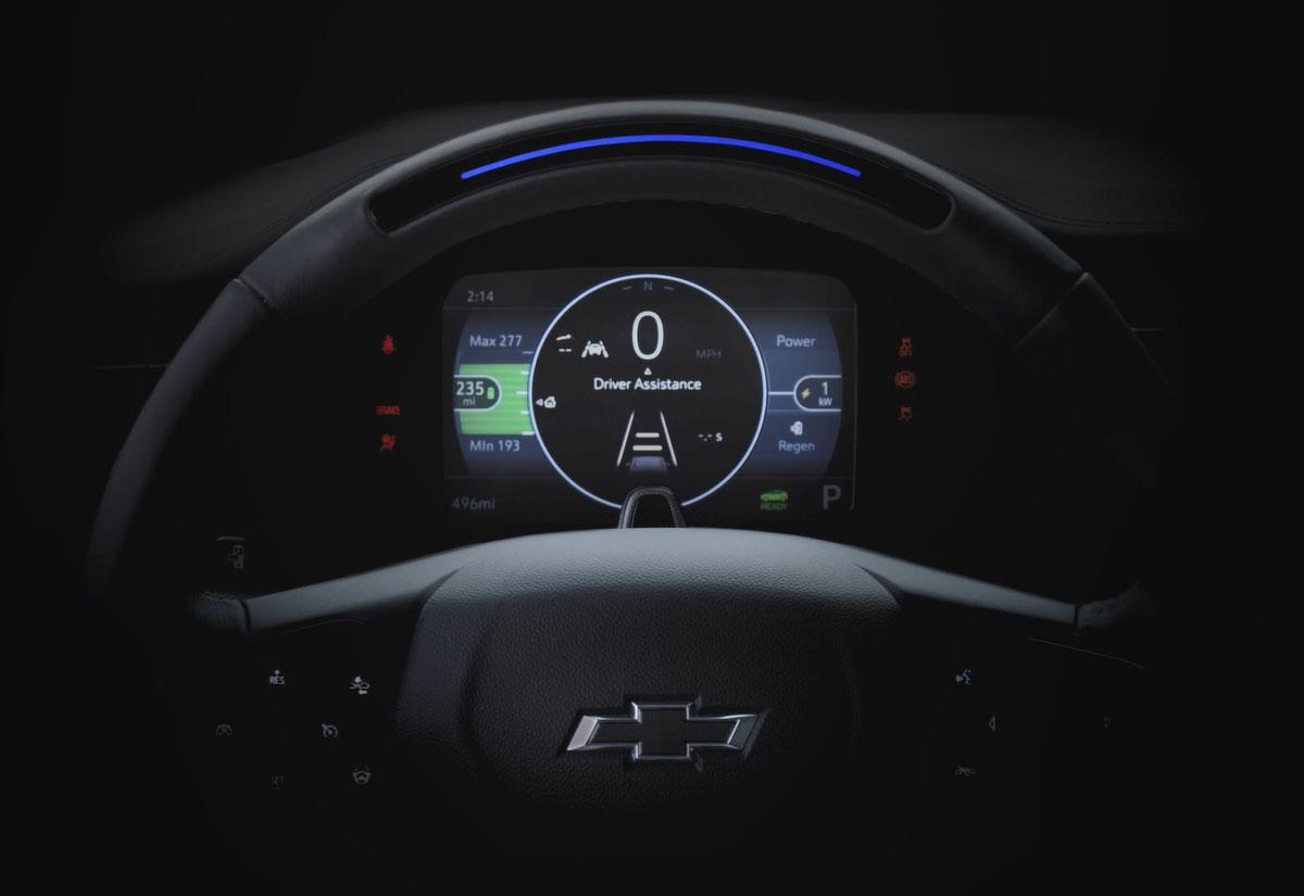 Bolt EUVのダッシュボード (写真:General Motors)