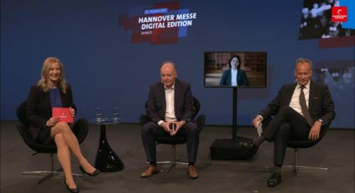 「2050年のヨーロッパ・クライメートニュートラルを実現するために」のステージ