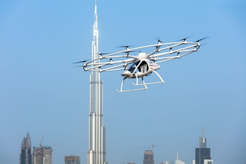 図1 Volocopterの機体「Volocopter」