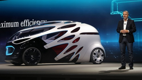 ドイツ・ダイムラー(Daimler)の自動運転機能を備えた電気自動車(EV)「Vision URBANETIC」