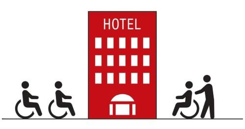 建築設計標準は、すべての建築物が利用者にとって使いやすいものに整備されることを目的とした設計のガイドライン。ホテルまたは旅館における追補版は、高齢者や障害者などを含めた誰もが円滑に利用しやすい宿泊環境の整備を図ることを目的としてつくられた(資料:日経アーキテクチュア)