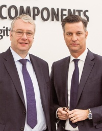 VWグループのStefan Sommer氏(左)と、Volkswagen Group ComponentsのThomas Schmall氏(出所:VWグループ)