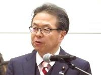 経済産業大臣の世耕弘成氏